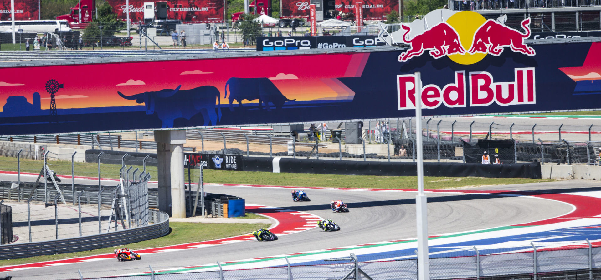 Action from the 2019 Red Bull Grand Prix of The Americas at Circuit of The Americas. Photo courtesy Red Bull.
