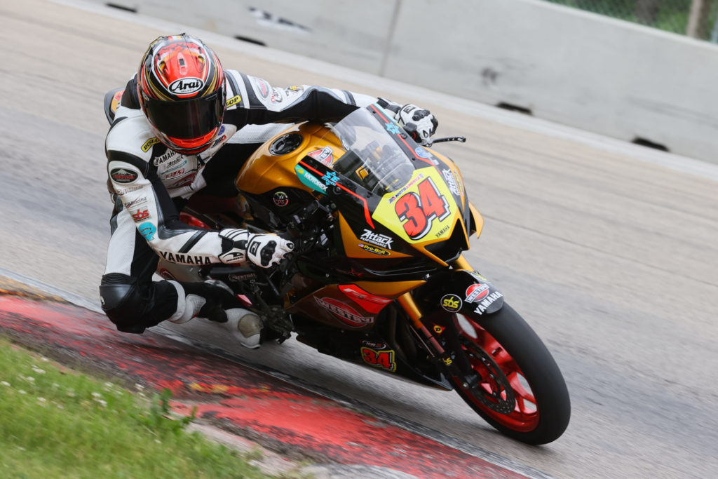Cody Wyman (34). Photo courtesy Westby Racing.
