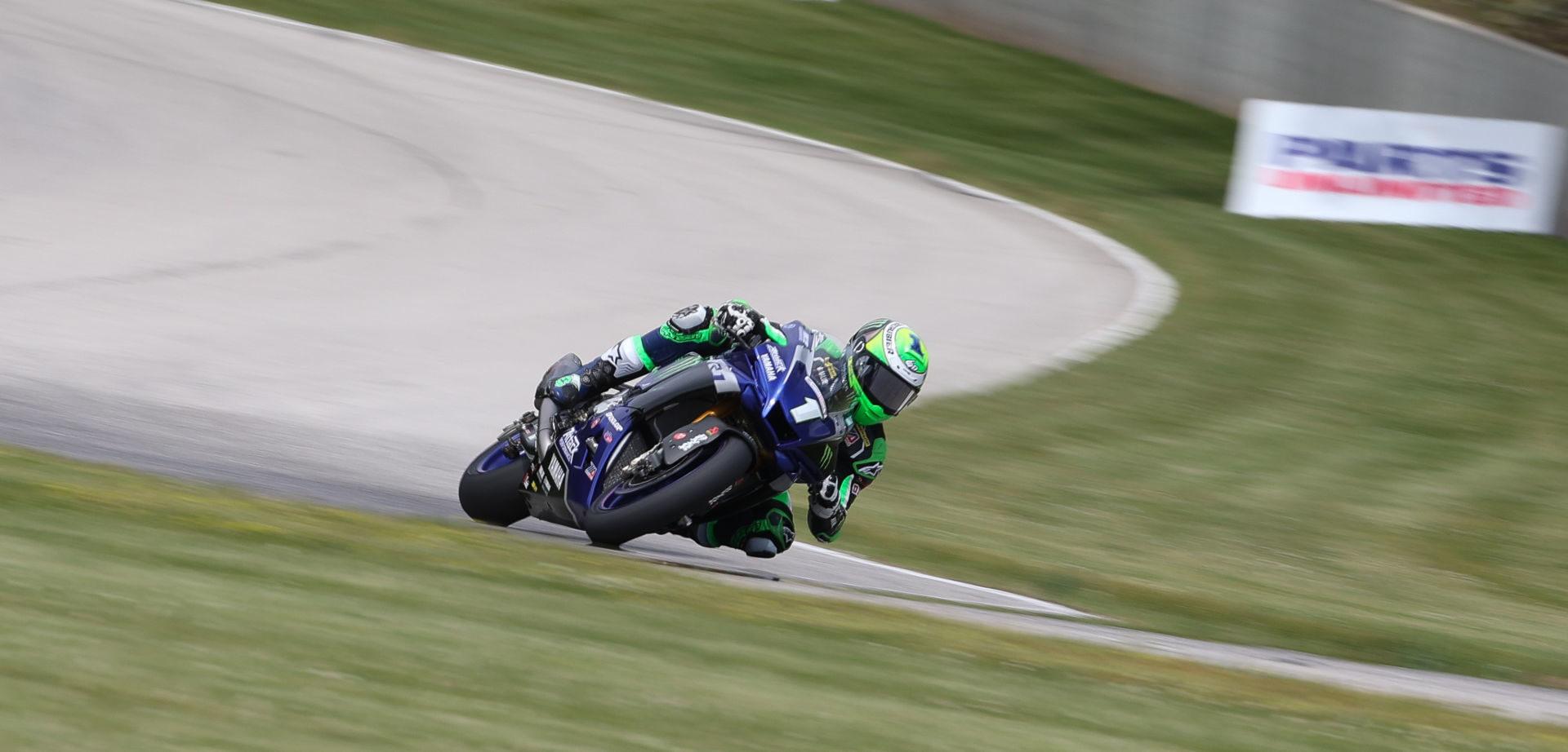 Cameron Beaubier (1). Photo by Brian J. Nelson, courtesy MotoAmerica.