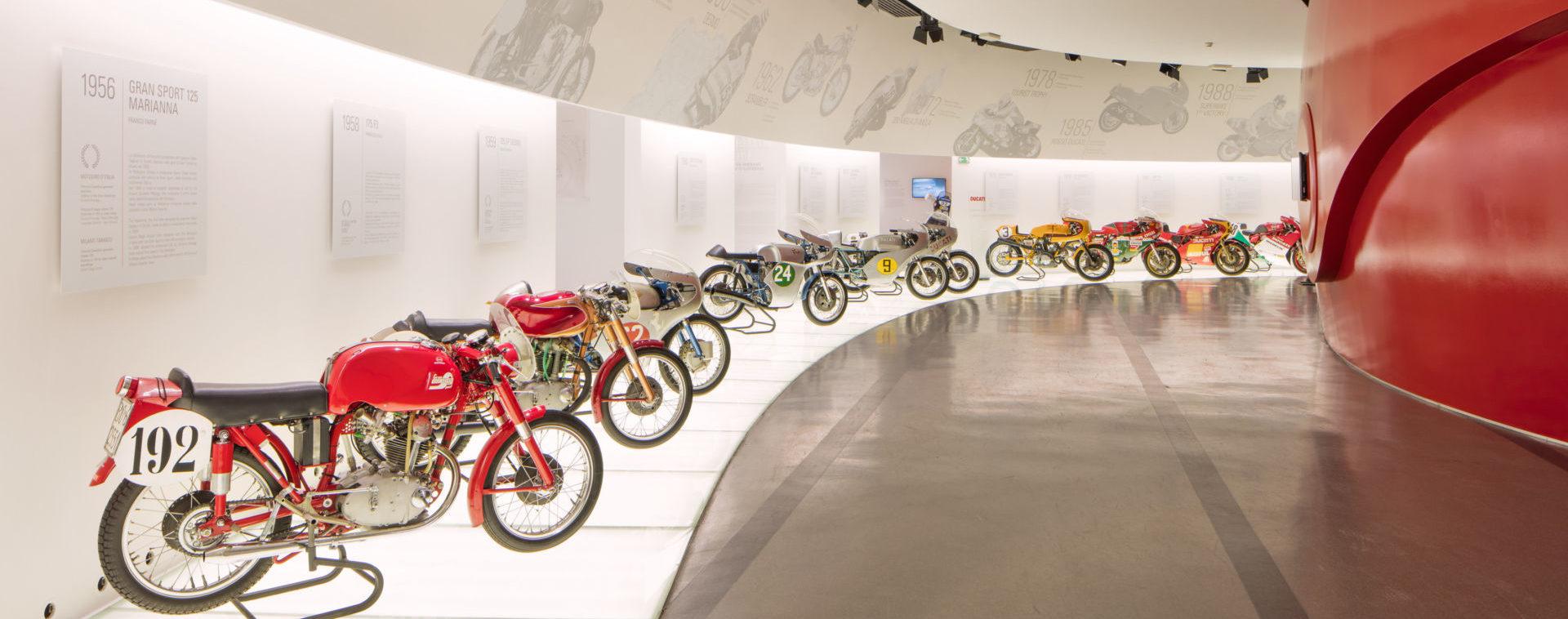 The Ducati Museum in Bologna, Italy. Photo courtesy Ducati.