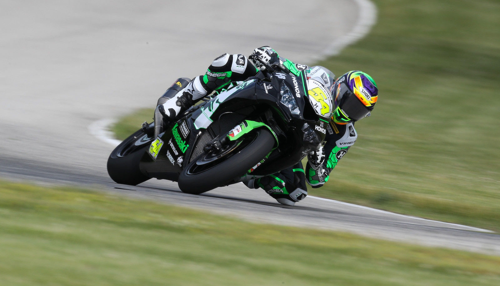 Richie Escalante (54). Photo by Brian J. Nelson, courtesy MotoAmerica.