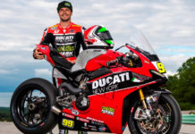 PJ Jacobsen and his Celtic HSBK Racing Ducati Panigale V4 R. Photo courtesy Celtic HSBK Racing.
