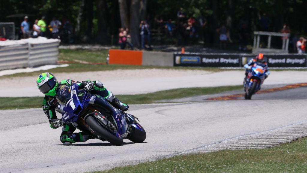 Cameron Beaubier (1). Photo courtesy Yamaha Racing.