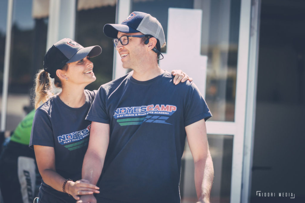 Kenny Noyes with his wife Iana. Photo by Nidori Media, courtesy Kenny Noyes.