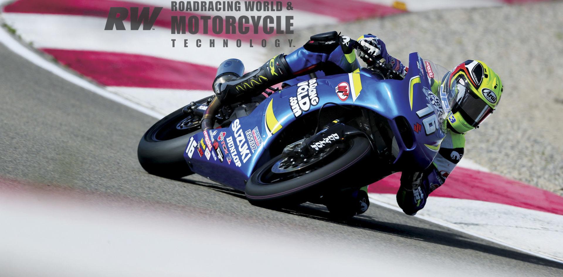 Suzuki Sv650 Project Building A Motoamerica Winner Part 4 July Issue Roadracing World Magazine Motorcycle Riding Racing Tech News