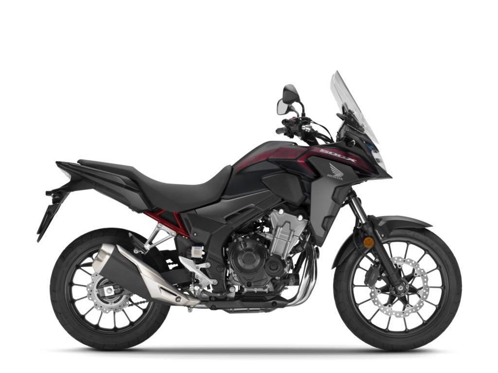 A 2021-model Honda CB500X. Photo courtesy American Honda.