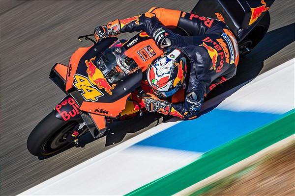 Pol Espargaro (44). Photo courtesy Red Bull KTM.