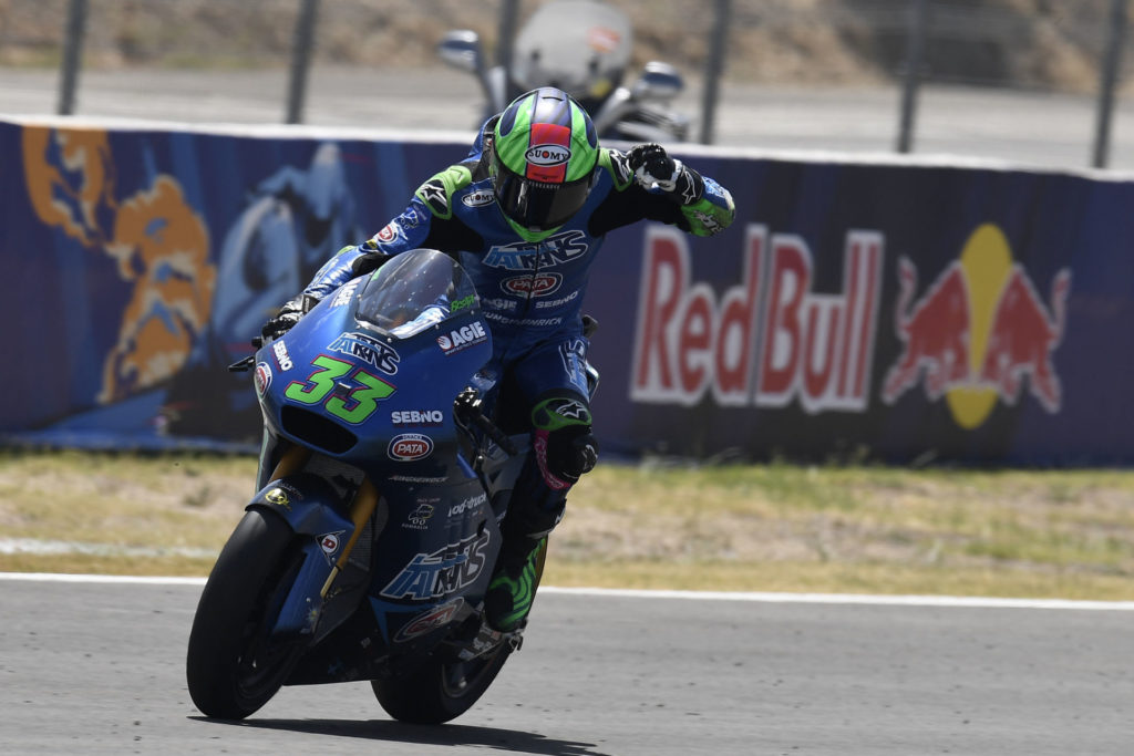 Enea Bastianini (33). Photo courtesy Dorna.