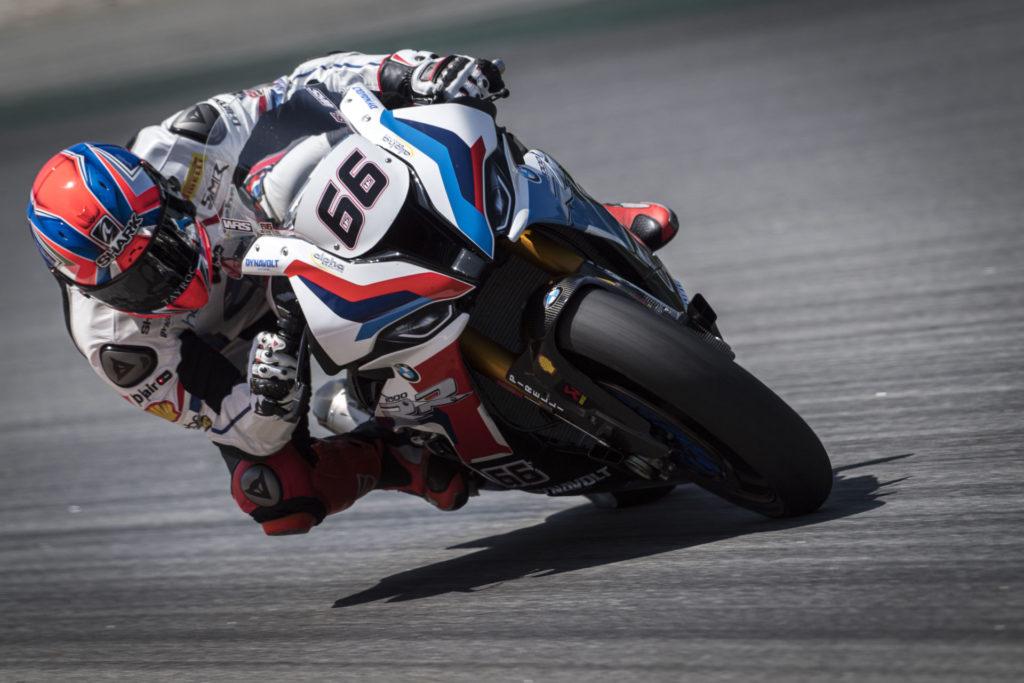 Tom Sykes (66). Photo courtesy of BMW Motorrad.
