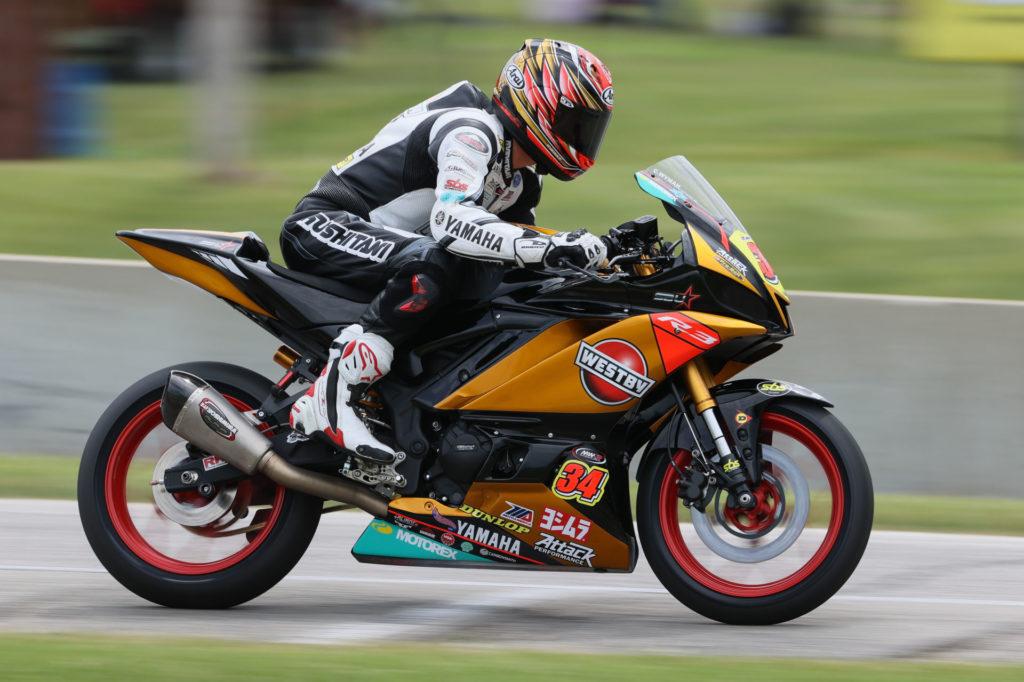 Cody Wyman (34). Photo by Brian J. Nelson, courtesy Westby Racing.