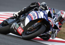 Ben Spies (19), as seen during the 2009 FIM Superbike World Championship, which he won. Photo courtesy Yamaha.