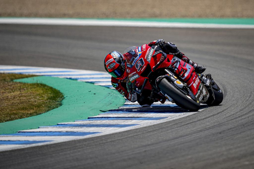 Danilo Petrucci (04). Photo courtesy Ducati.