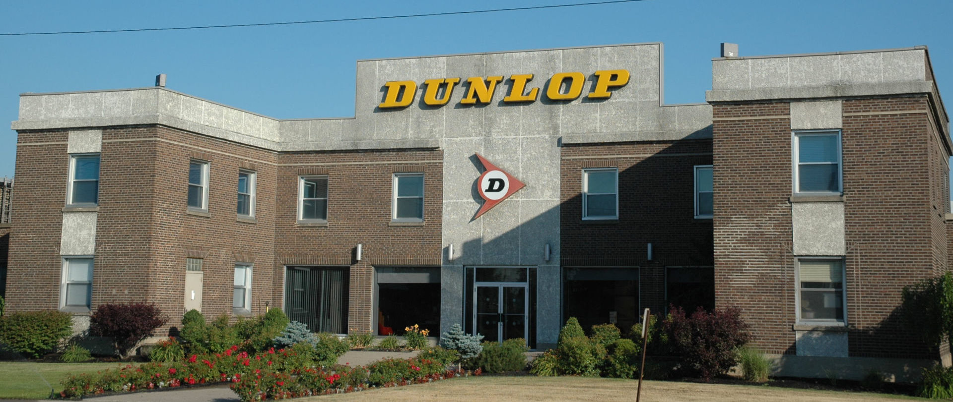 Dunlop's motorcycle tire manufacturing facility in Buffalo, New York. Photo by David Swarts.