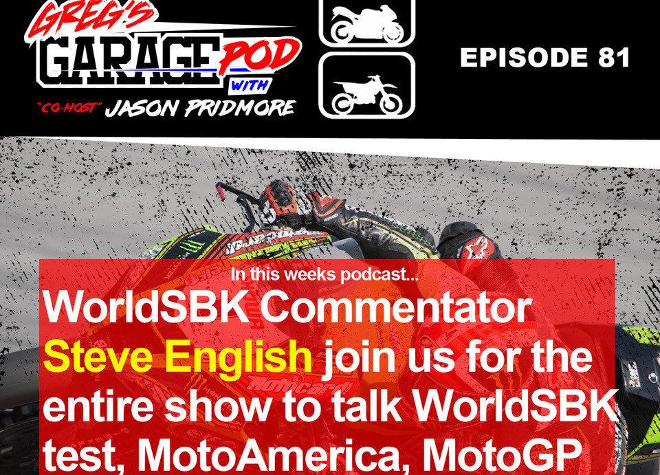Image courtesy Greg's Garage Pod: