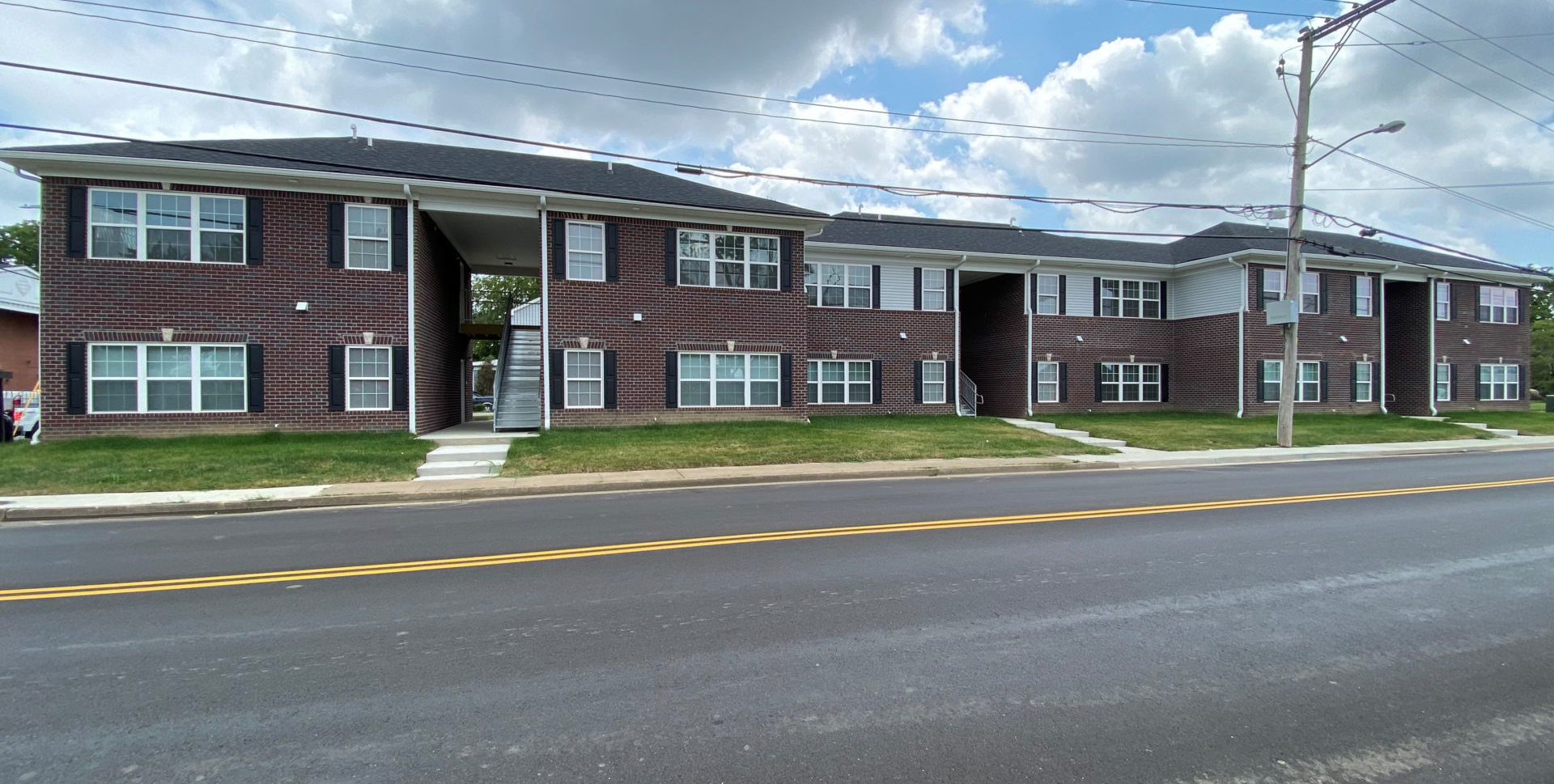 The Nicky Hayden Apartments in Owensboro, Kentucky. Photo courtesy the Hayden family.