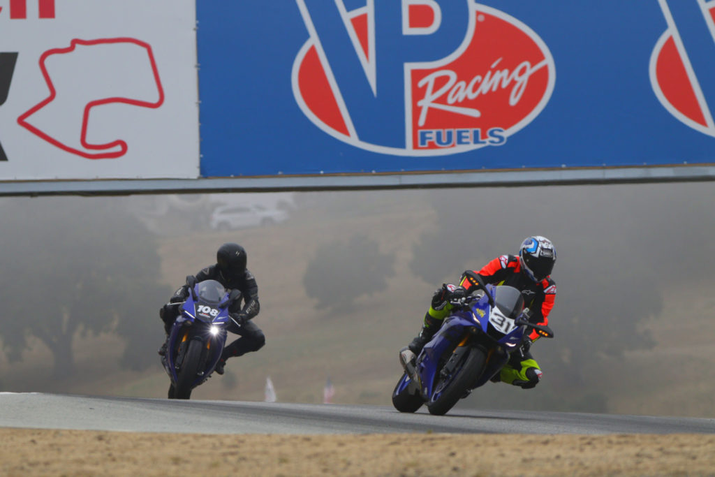 TrackDaz track day participants in action at WeatherTech Raceway Laguna Seca. Photo by CaliPhotography.com, courtesy TrackDaz.
