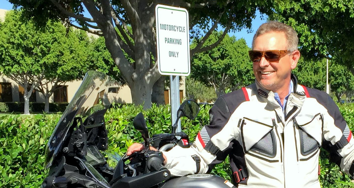 Larry Little. Photo courtesy Motorcycle Industry Council (MIC).