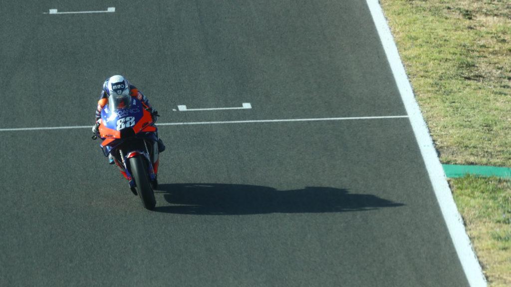 Miguel Oliveira (88). Photo courtesy KTM.