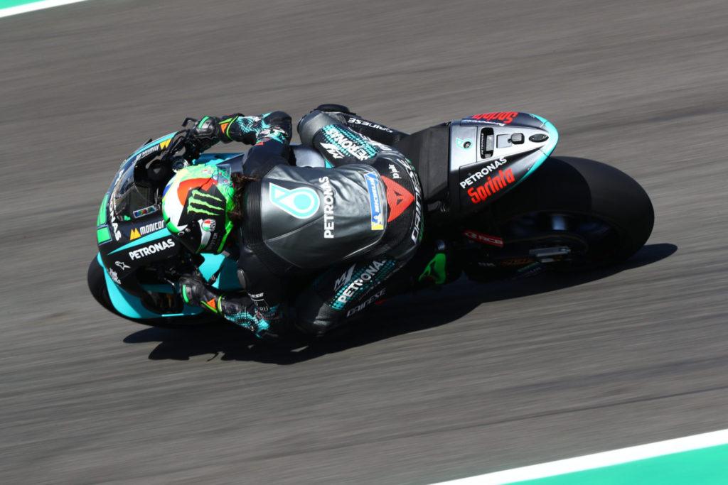Franco Morbidelli (21). Photo courtesy PETRONAS Yamaha SRT.