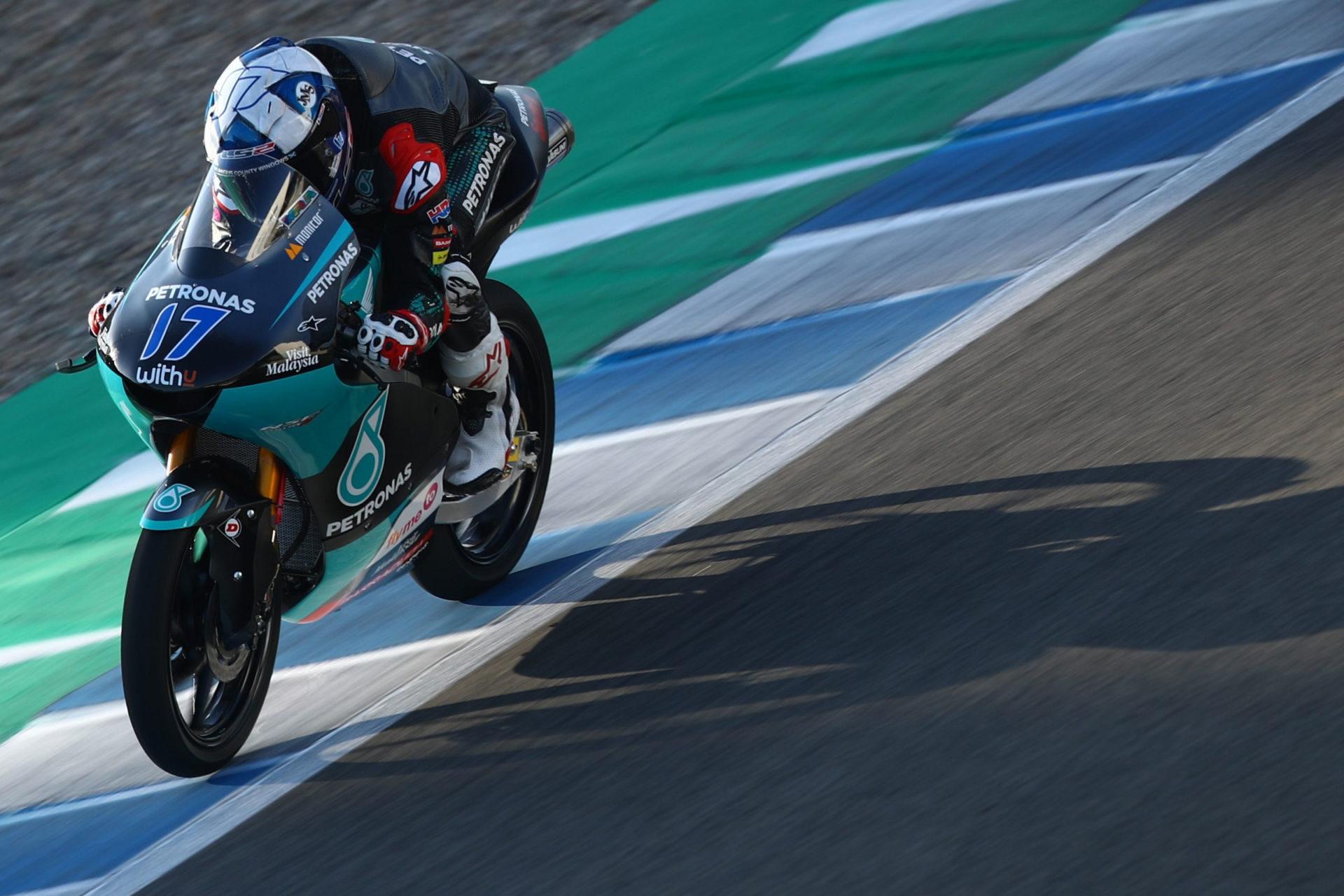 John McPhee (17). Photo courtesy Petronas Sprinta Racing.