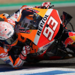 Marc Marquez (93). Photo courtesy Repsol Honda.