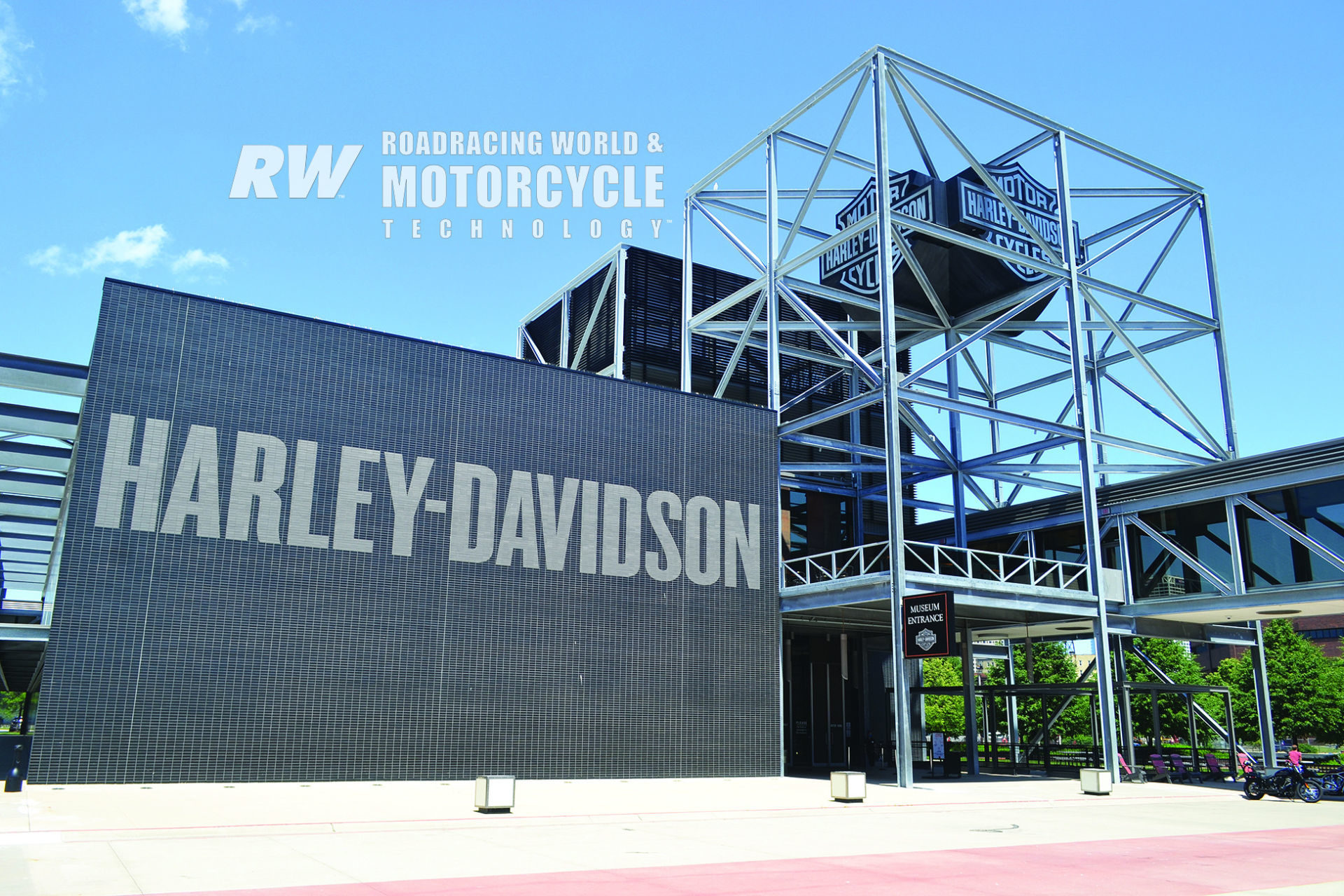 The Harley-Davidson Museum includes a 50,000-square-foot main exhibit space plus additional facilities and buildings on a picturesque 20-acre campus south of downtown Milwaukee. Photos by David Swarts.