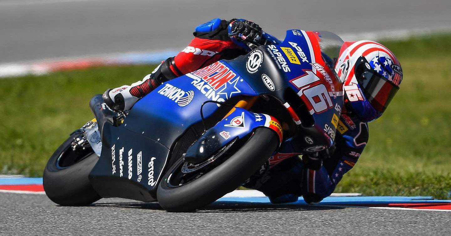 American Joe Roberts (16). Photo courtesy American Racing Team.