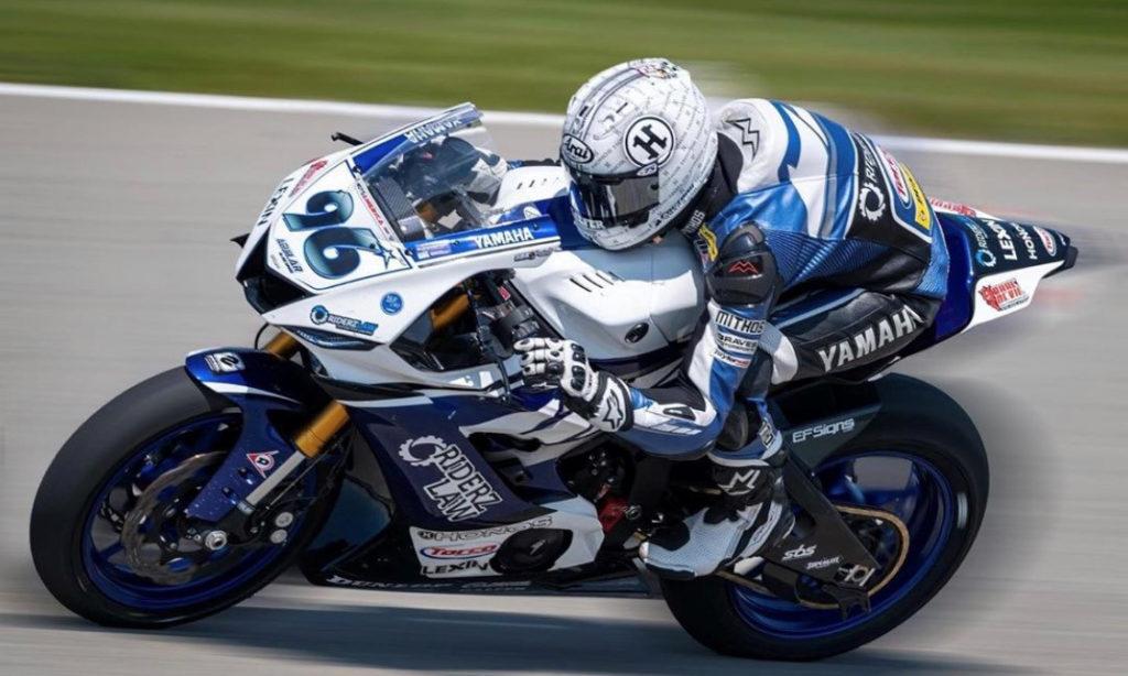 Jason Aguilar (96). Photo courtesy Jason Aguilar Racing.