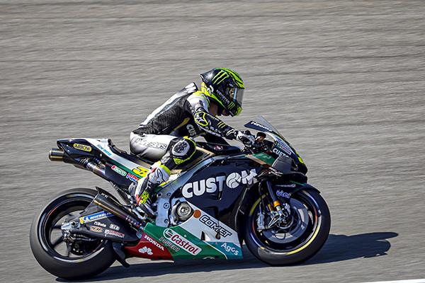 Cal Crutchlow (35). Photo courtesy LCR Honda Castrol.