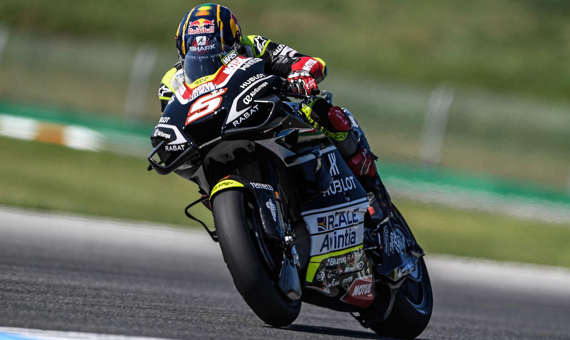 Johann Zarco (5). Photo courtesy Esponsorama Racing.