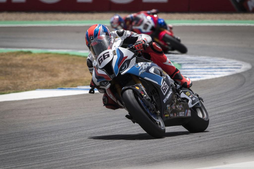 Tom Sykes (66). Photo courtesy BMW Motorrad Motorsport.