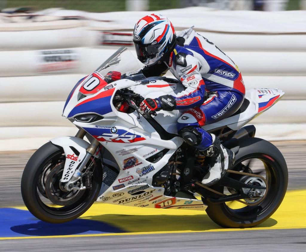 Travis Wyman (10). Photo by Brian J. Nelson, courtesy Travis Wyman Racing.