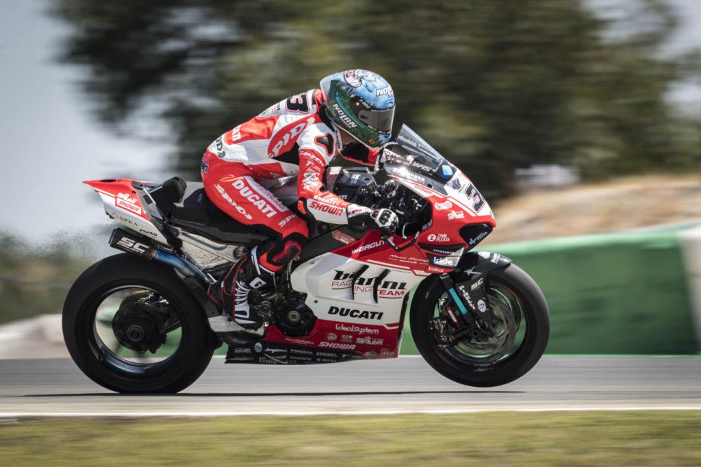 Marco Melandri (33). Photo courtesy Barni Racing.