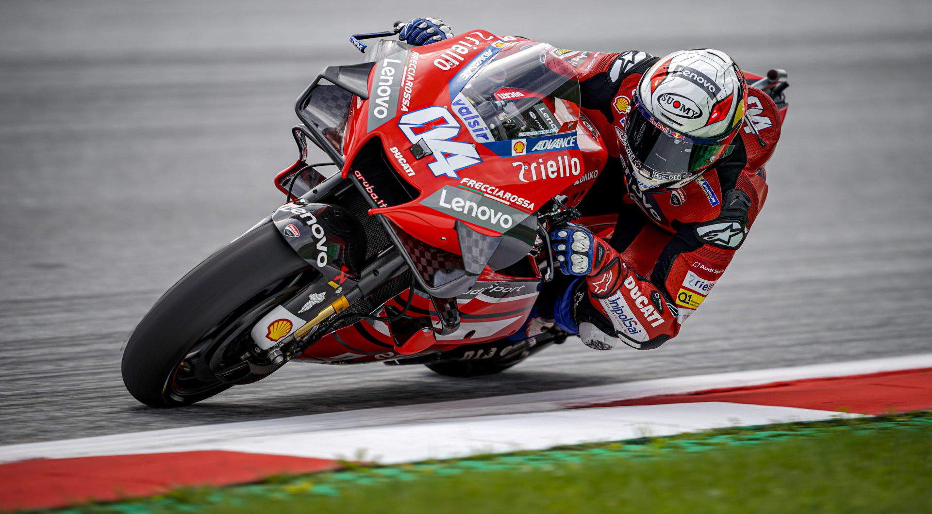 Andrea Dovizioso (04). Photo courtesy Ducati.