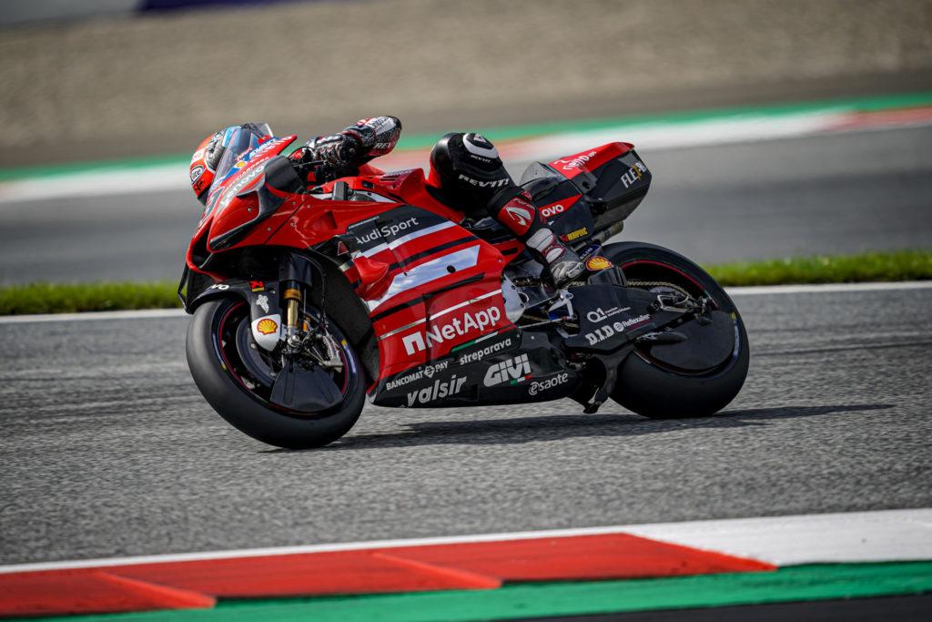 Danilo Petrucci (9). Photo courtesy Ducati.