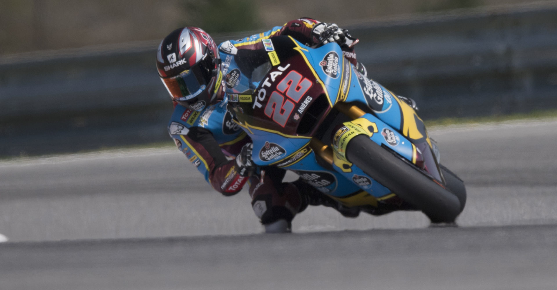 Sam Lowes (22). Photo courtesy Marc VDS Racing.