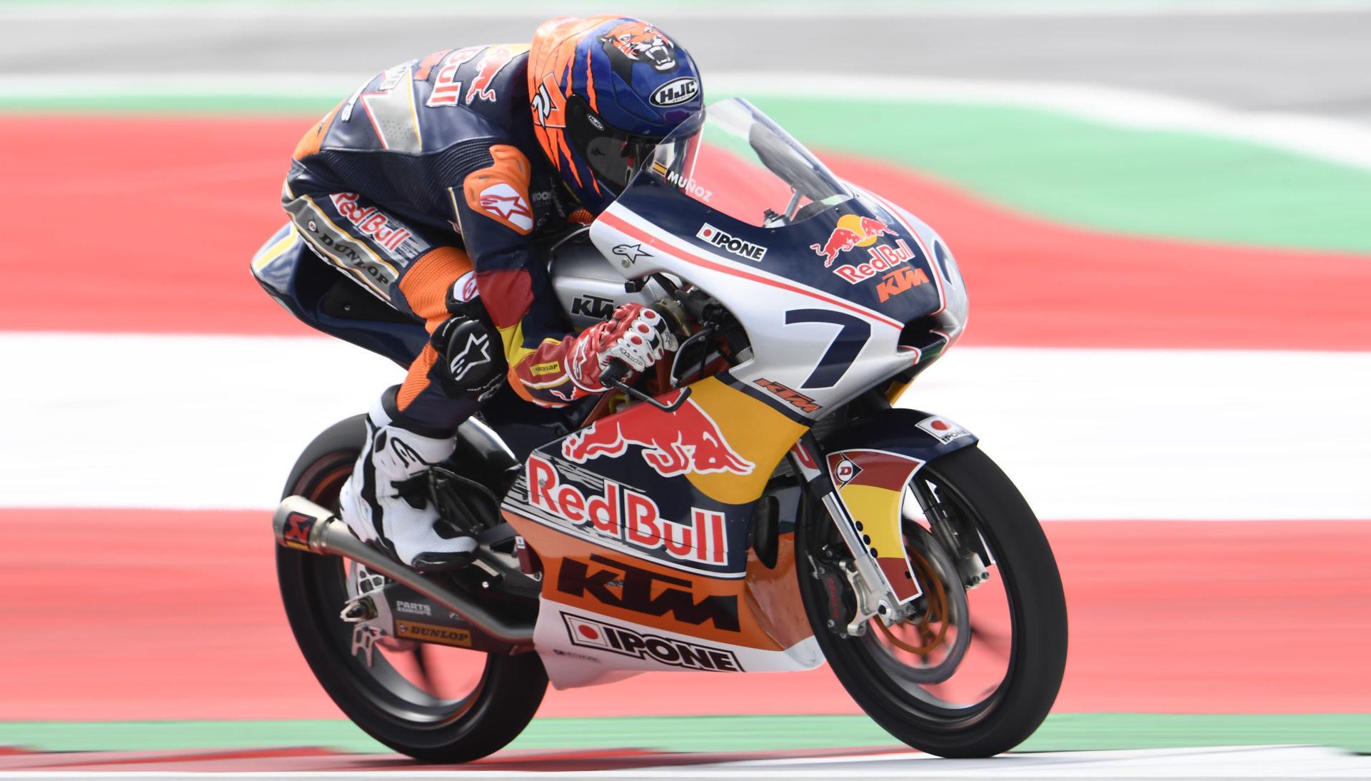 Daniel Munoz (7). Photo courtesy Red Bull.