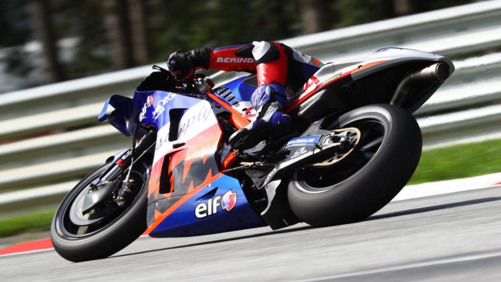 Iker Lecuona (27). Photo courtesy Red Bull KTM Tech3.