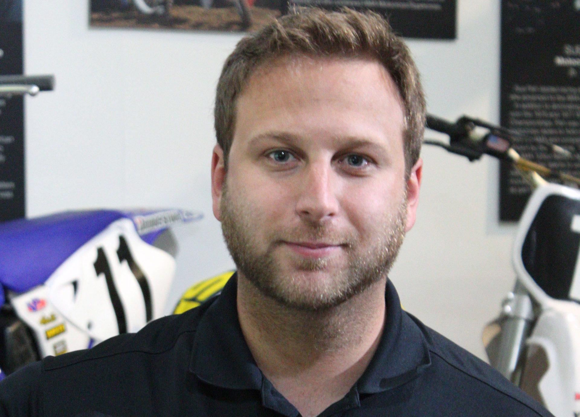 Michael Pelletier, AMA Director of Racing. Photo courtesy AMA.
