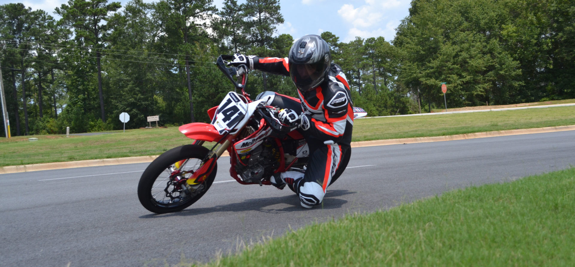 A mini road racer in action. Photo courtesy SEMRA.