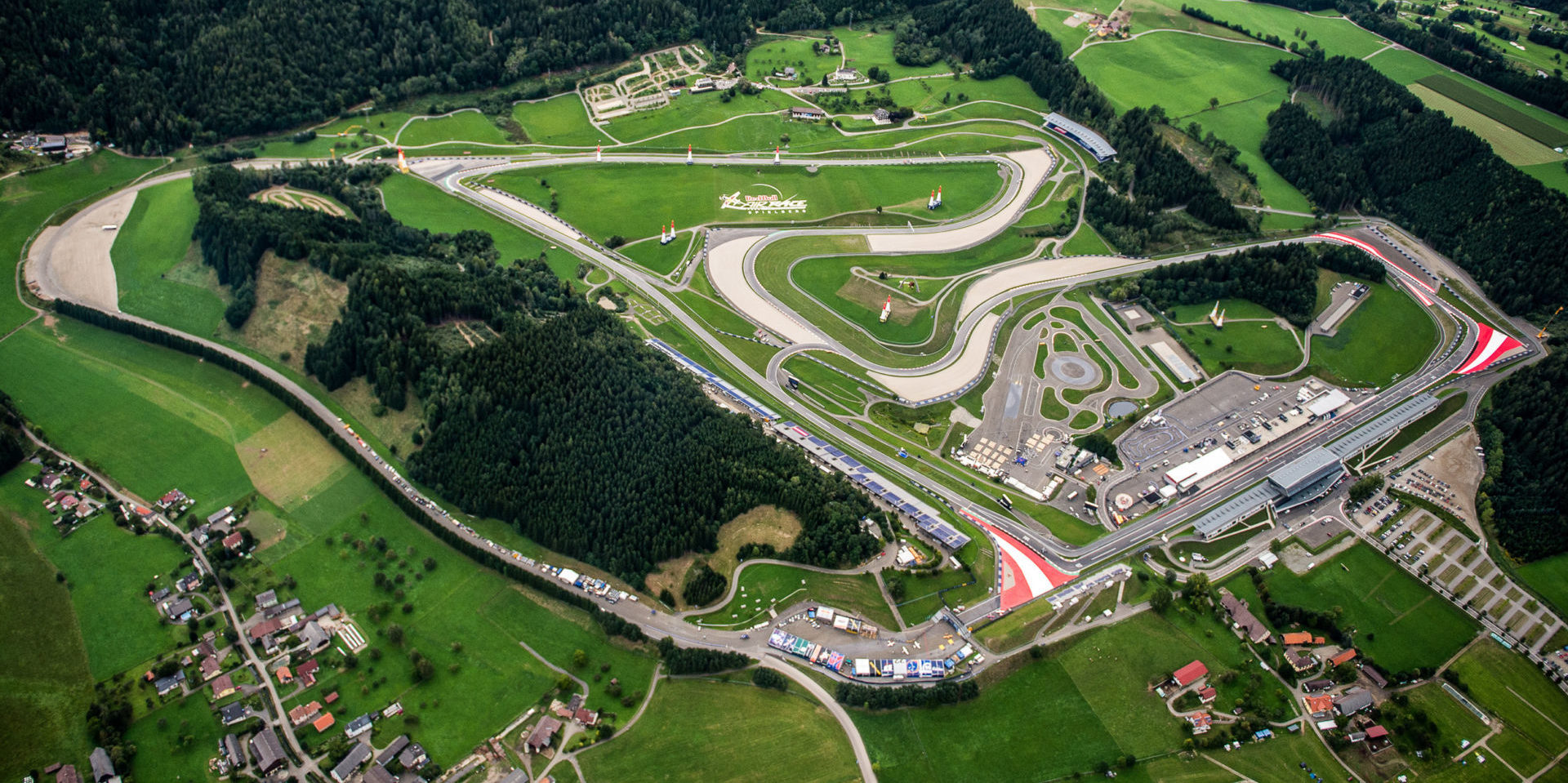 The Red Bull Ring, in Austria. Photo courtesy Michelin.