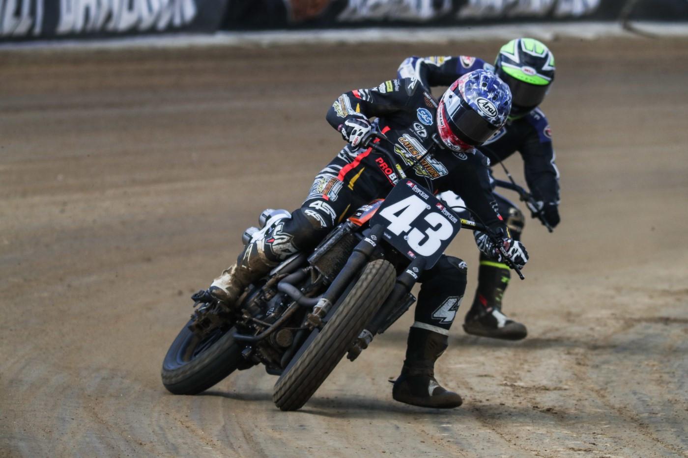 James Rispoli (43). Photo courtesy Harley-Davidson.