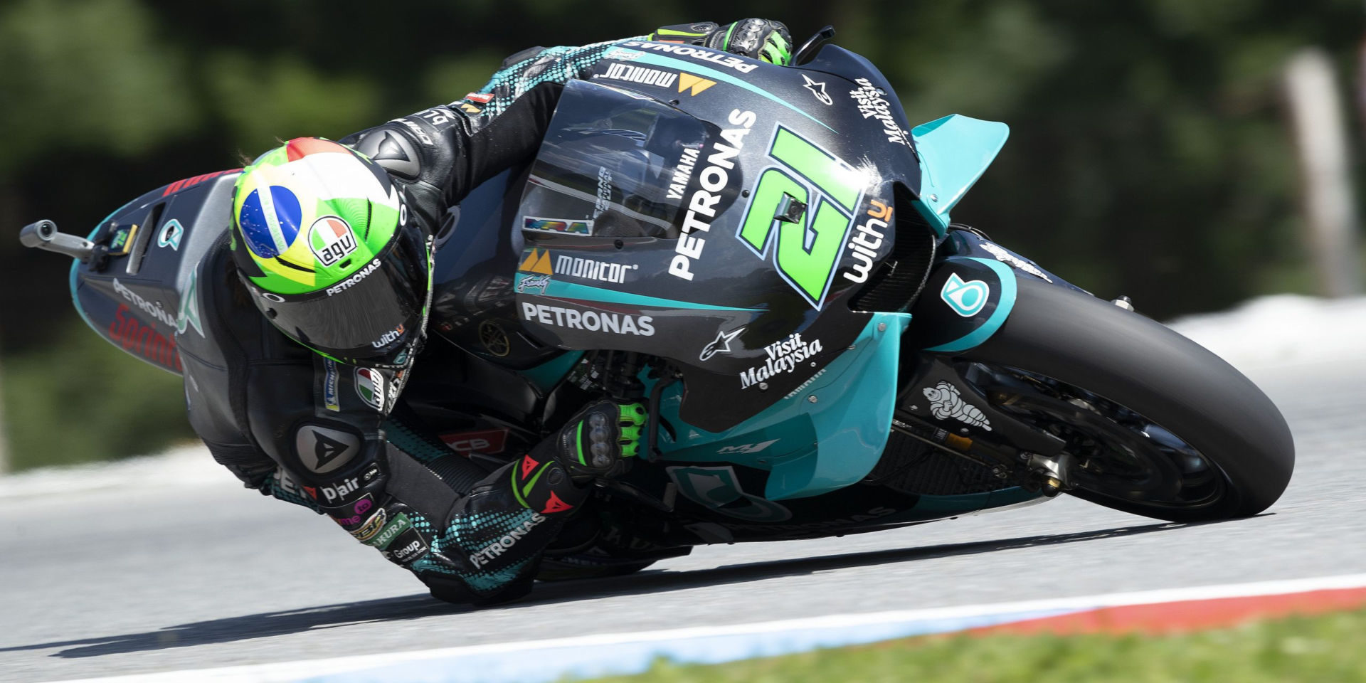 Franco Morbidelli (21). Photo courtesy PETRONAS Yamaha SRT.