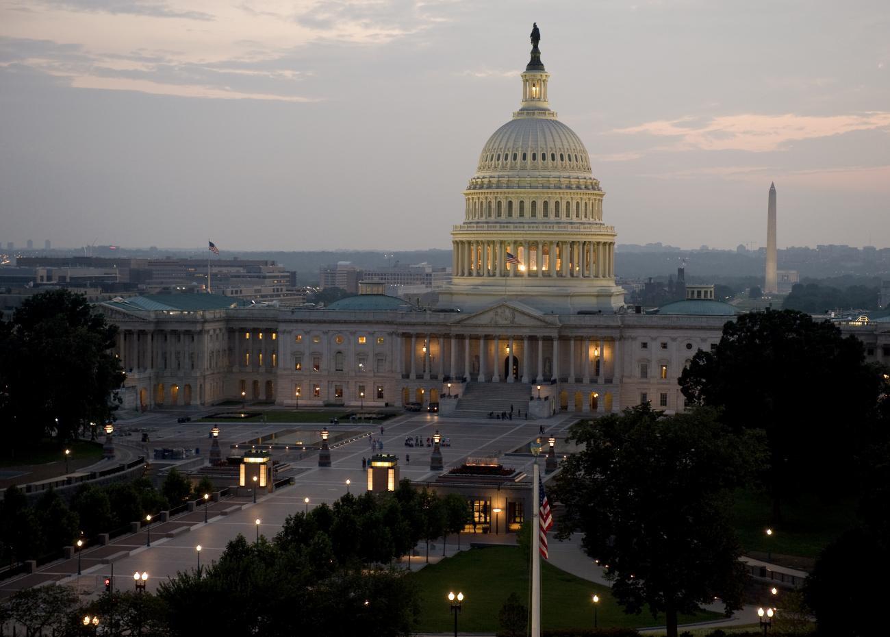 The U.S. Capital building. Photo courtesy U.S. Capital Visitor Center.
