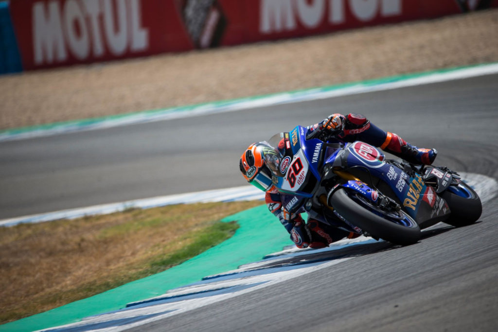 Michael van der Mark (60). Photo courtesy Yamaha.
