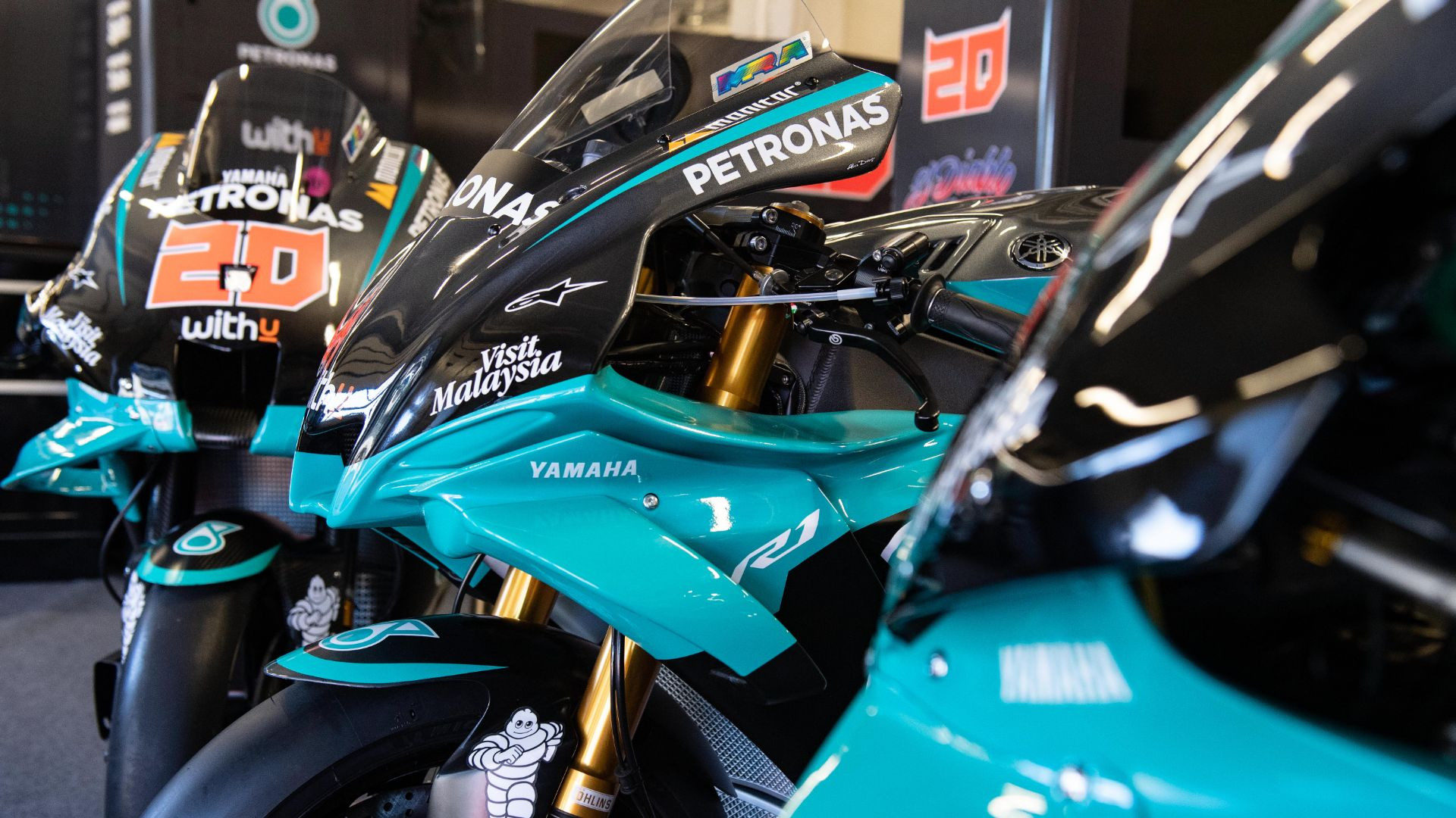 Petronas Replica Yamaha Yzf R1 Now Available Roadracing World Magazine Motorcycle Riding Racing Tech News