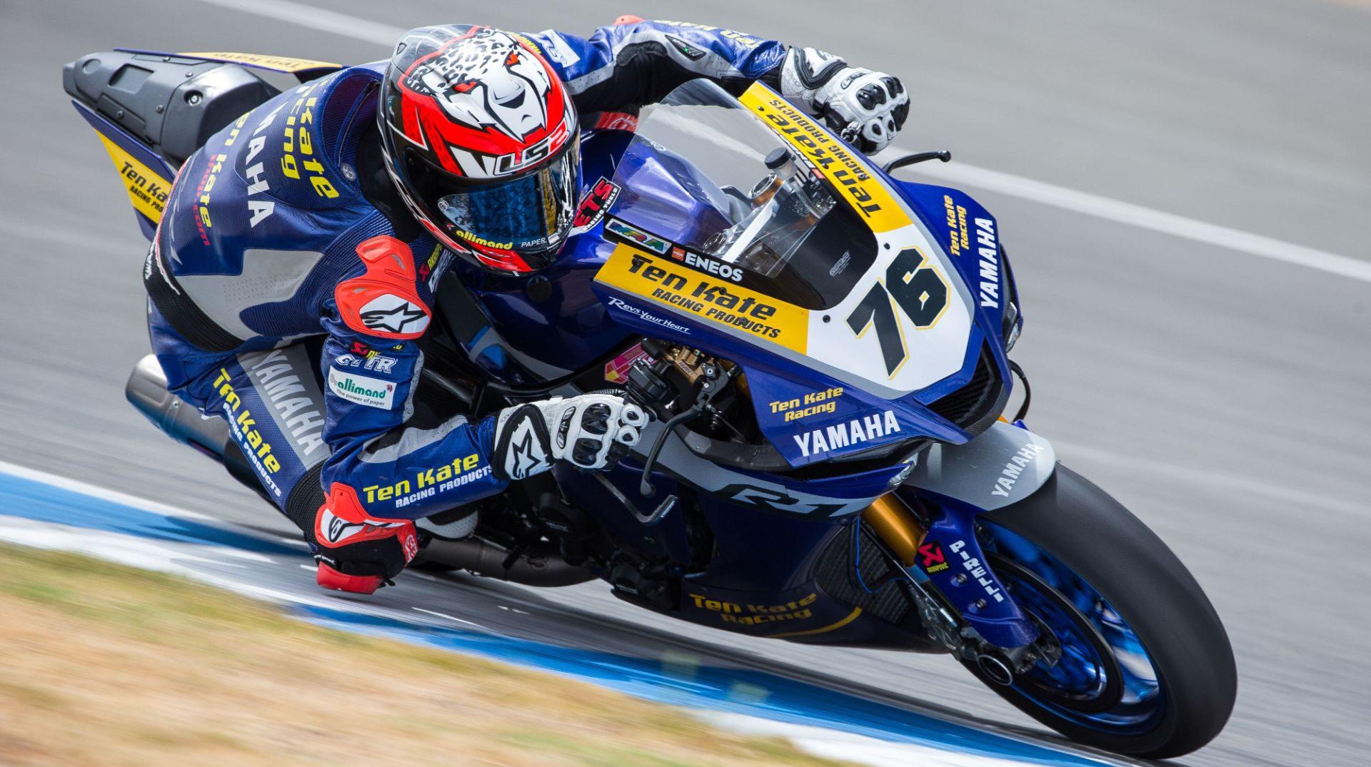 Loris Baz (76). Photo courtesy Yamaha.