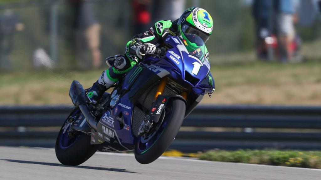 Cameron Beaubier (1). Photo courtesy Yamaha.