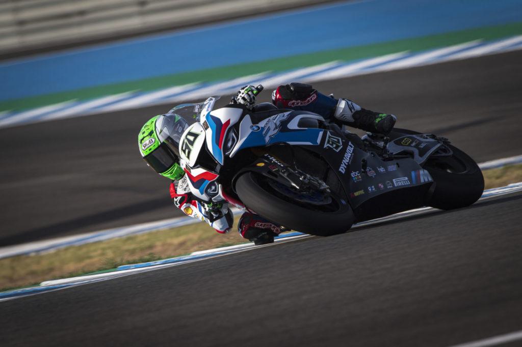 Eugene Laverty (50). Photo courtesy BMW Motorrad Motorsport.