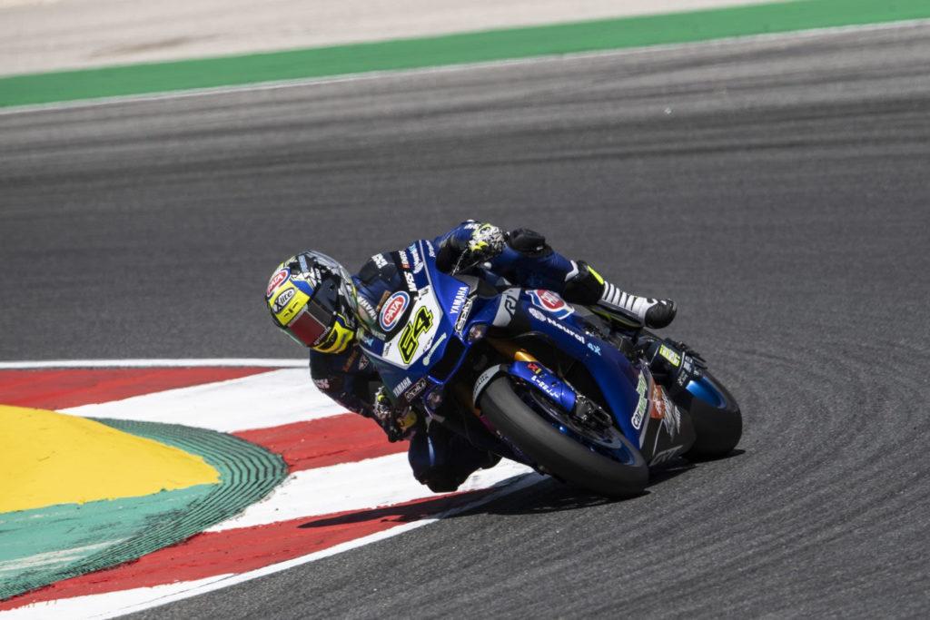 Federico Caricasulo (64). Photo courtesy Yamaha.